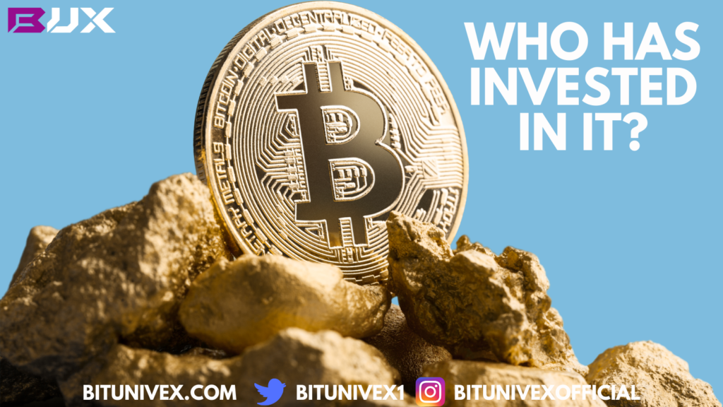 Who has invested in it?