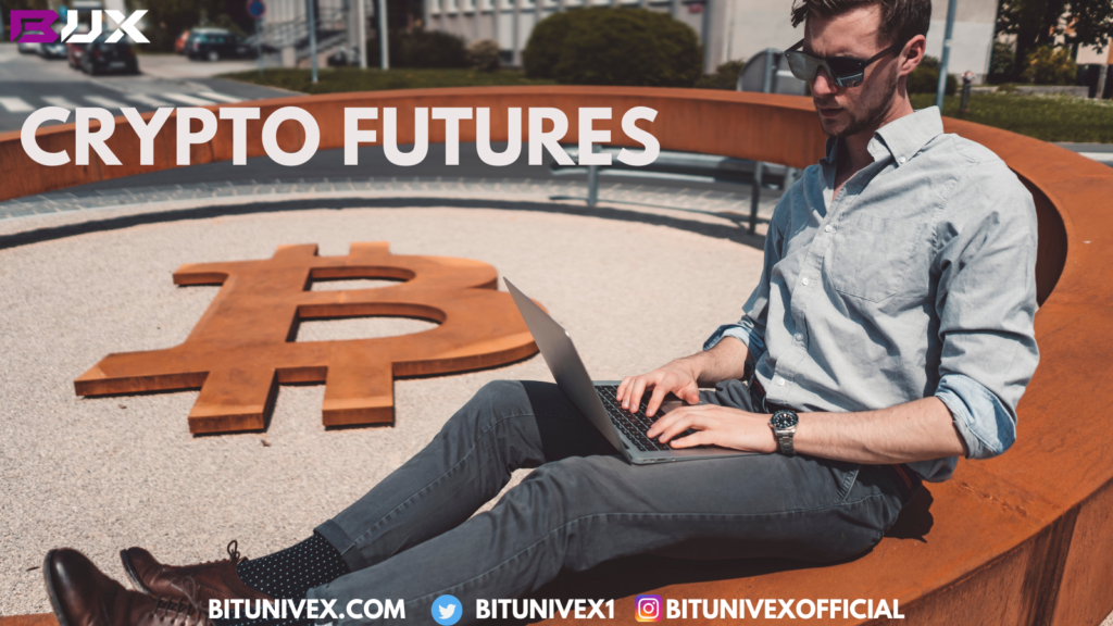 Crypto futures are available as a financial contract in many firms.