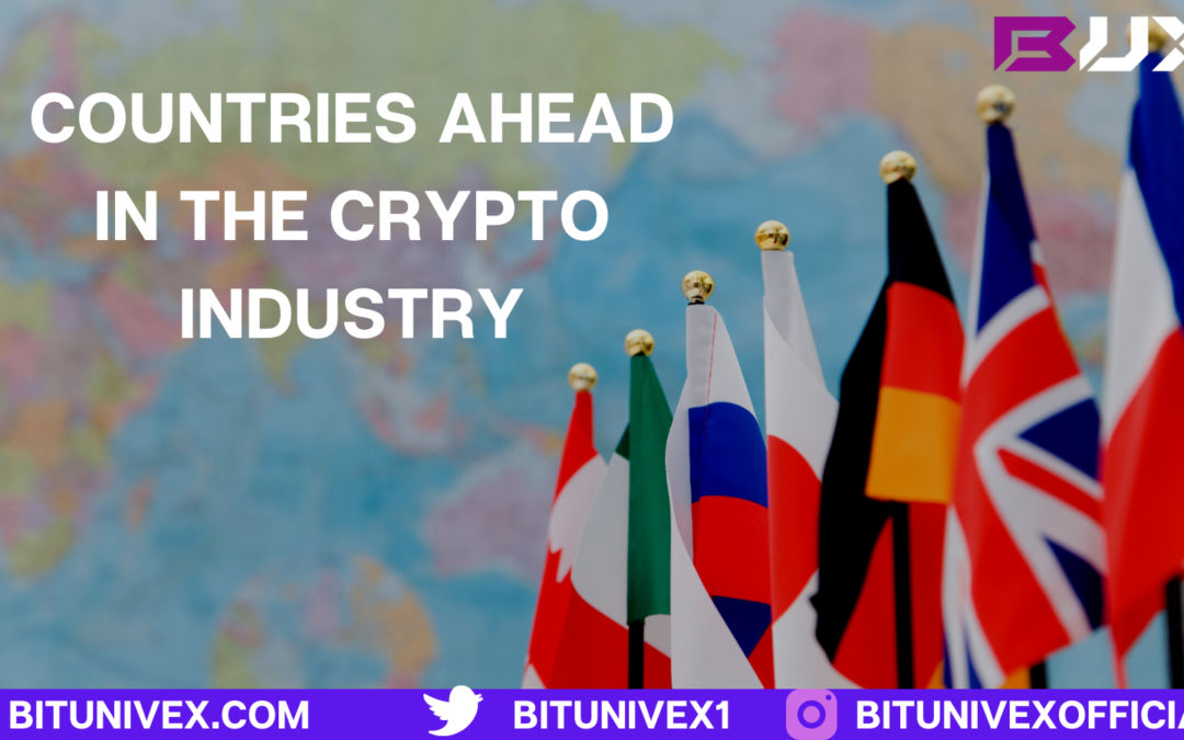 Which countries are ahead in the crypto industry