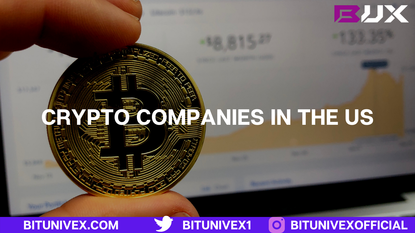 Crypto companies in the US