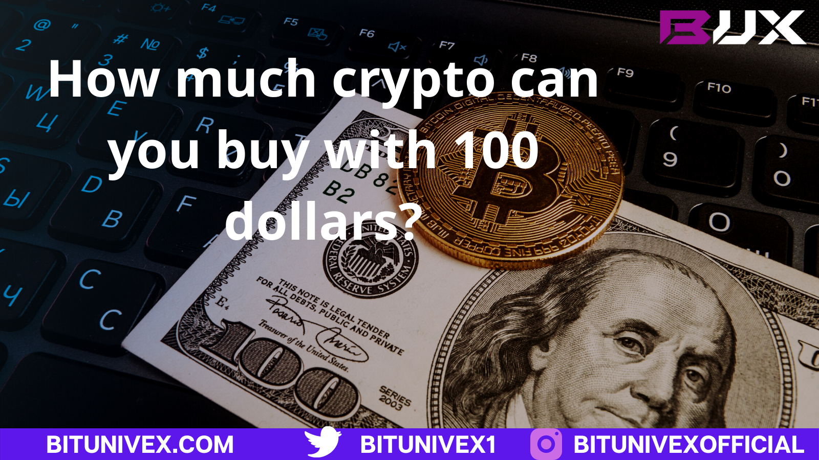 Invest in crypto with 100 dollars