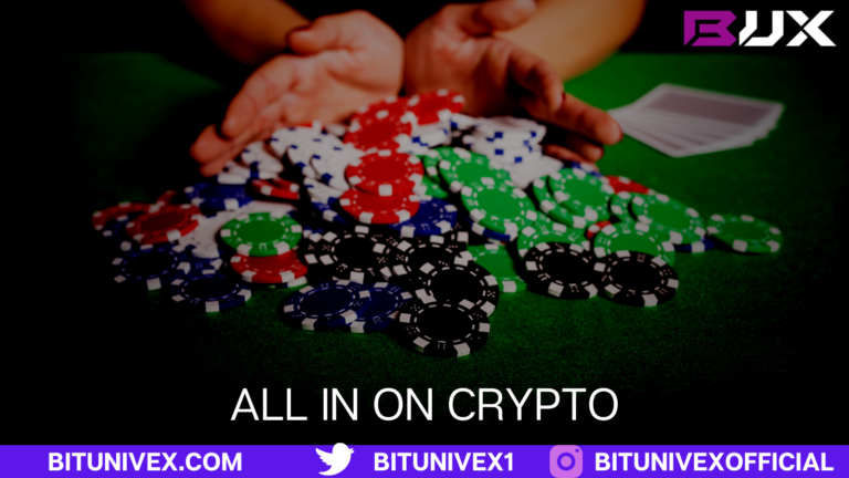 Going all in on crypto